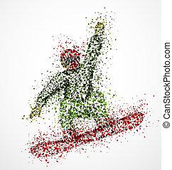 elvont, snowboarder
