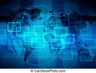 elvont, technológia, háttér