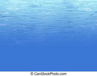 elvont, víz alatti, háttér