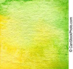 elvont, vízfestmény, festett, háttér