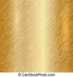 elvont, vektor, arany, háttér, fémből való