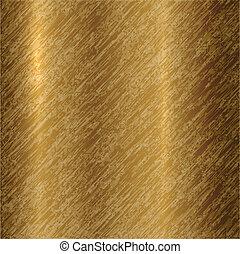 elvont, vektor, bronz, háttér, fémből való