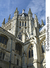 Ely Cathedral in the City of Ely, Cambridgeshire Uk