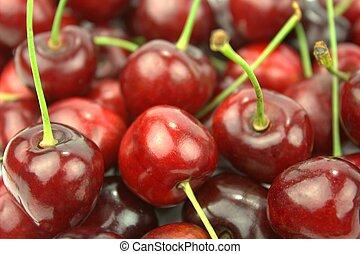 elzáródik, cseresznye
