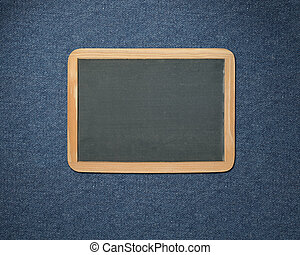 em branco, chalkboard