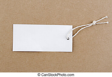 em branco, tag