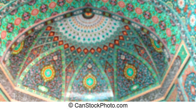 em, irã, a, religião, arquitetura