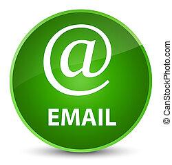 Email (address icon) elegant green round button
