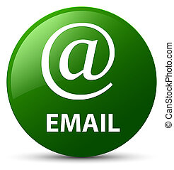 Email (address icon) green round button