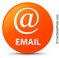 Email (address icon) orange round button