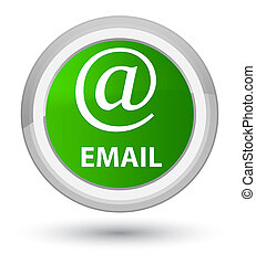 Email (address icon) prime green round button