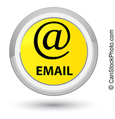 Email (address icon) prime yellow round button