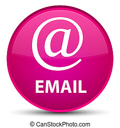 Email (address icon) special pink round button
