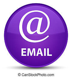 Email (address icon) special purple round button