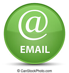 Email (address icon) special soft green round button
