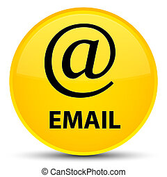 Email (address icon) special yellow round button