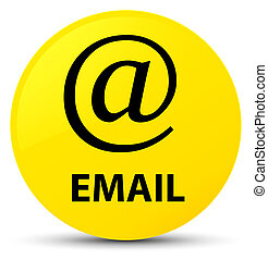 Email (address icon) yellow round button