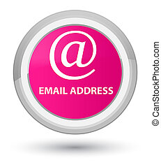 Email address prime pink round button