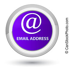 Email address prime purple round button