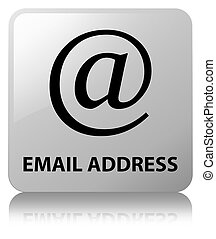 Email address white square button