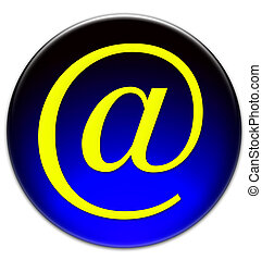 Email At @ icon
