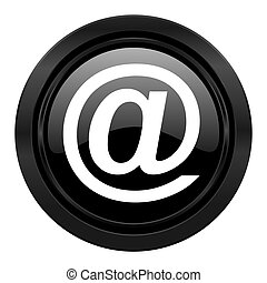 email black icon