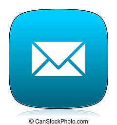 email blue icon