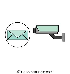 email camera surveillance design