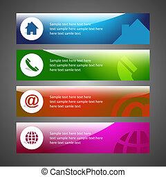 email., casa, telefono, internet