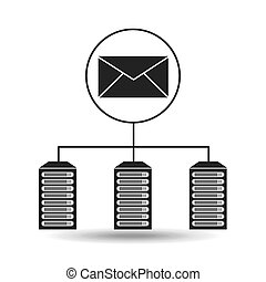 email data center connection