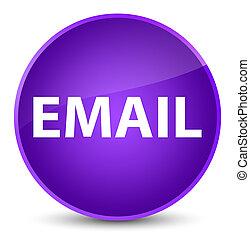 Email elegant purple round button