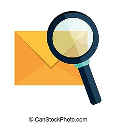 email envelope message search