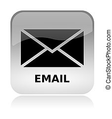 Email envelope web interface icon - Email envelope white,...