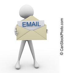 email, envolver