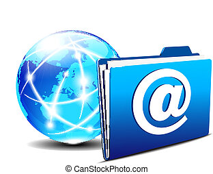 email folder Internet World