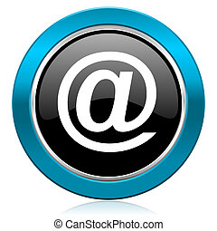email glossy icon