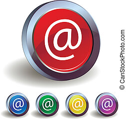 Email icon buttons