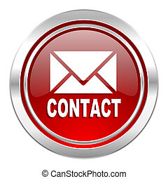 email icon, contact sign