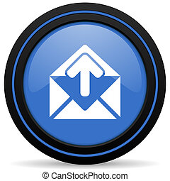 email icon post message sign
