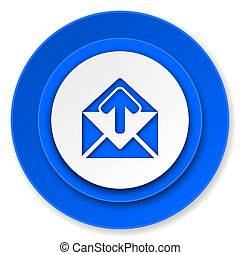 email icon, post message sign