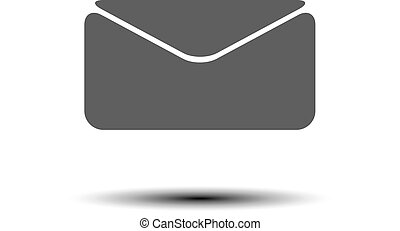 Email icon, vector illustration