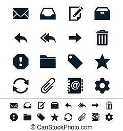 email, iconen