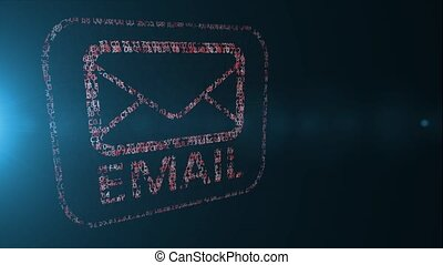 Email in hexadecimal code. e-mail