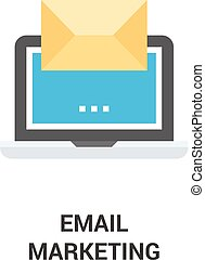 email marketing icon concept