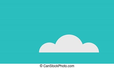 email message envelope icons - sky with email message...