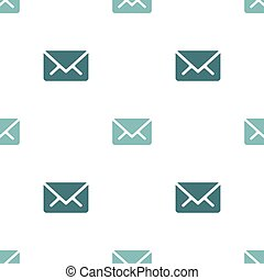 Email message seamless navy on white pattern background mail document message correspondence