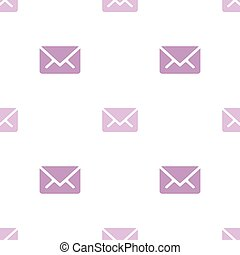 Email message seamless purple on white pattern background mail document message correspondence