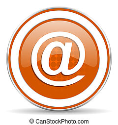 email orange icon