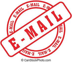email, palavra, stamp3