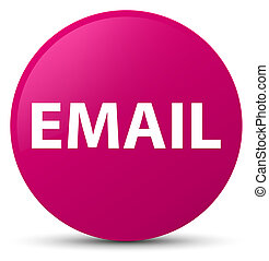 Email pink round button